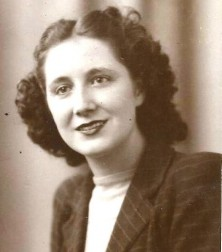 Photo of the late Margaret Ramsbottom of Prestwich