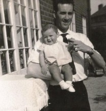 photo of Gordon Rayner and son