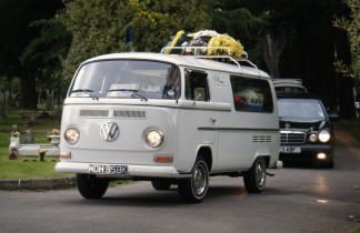 VW Campervan Funeral Hearse