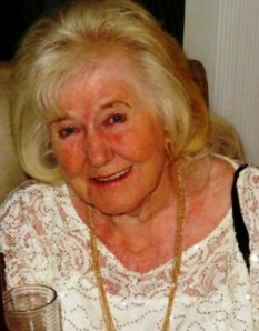 Photo of the late Charlotte O'Brien of Whitefield late Glasgow