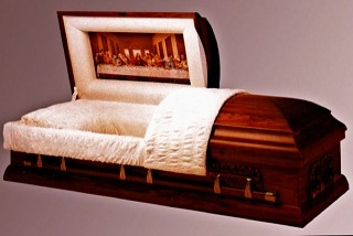 Solid Timber American Casket