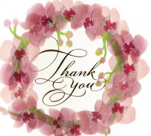 Thank You Card Patricia Randles