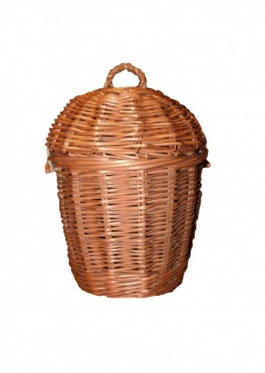 photo of a wicker ashes Urn in Manchestyer