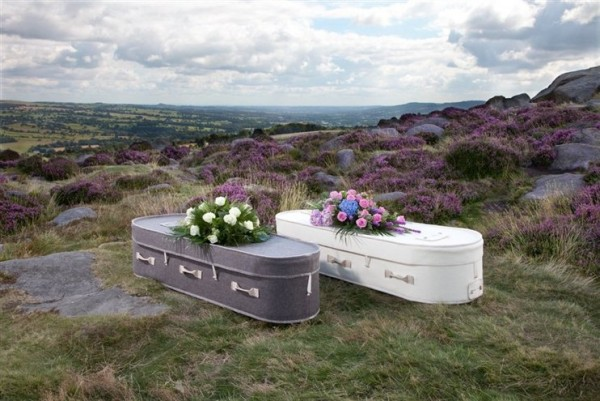 Coffins made from Wool