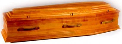 Irish Coffin