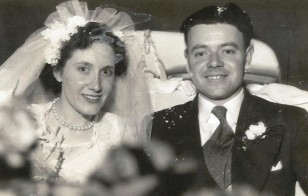 Photo of the late Albert & Margaret Ramsbottom of Prestwich