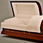 Solid Cherry American Casket